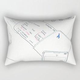 The Old Mission in Santa Barbara Rectangular Pillow