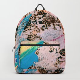 Sparrow Abstract Painting Backpack