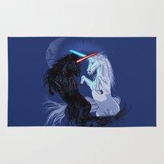 Starwars with Unicorns  Rug