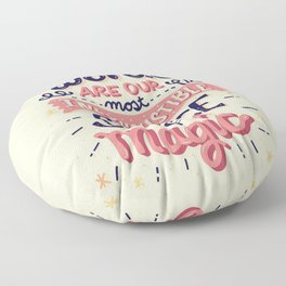 Source of Magic Floor Pillow