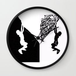 Yin & Yang Amusement Wall Clock