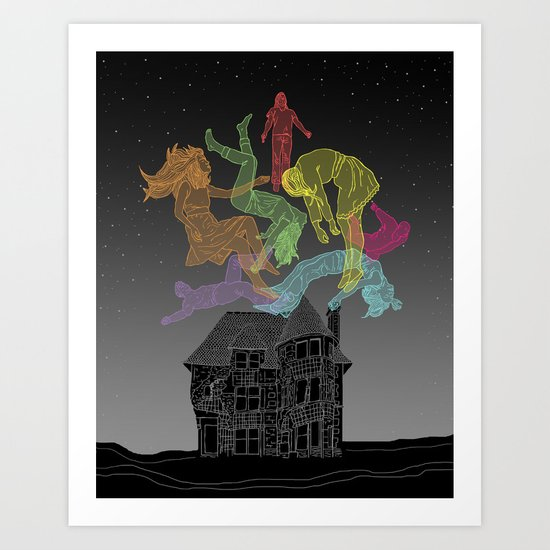 Sleep Paralysis Ball  Art Print