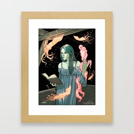 Lovecraft Heart Framed Art Print