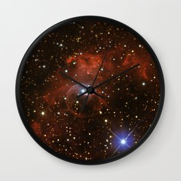 Bubble Nebula (vertical mode) Wall Clock