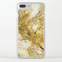 A View of Autumn Clear iPhone Case