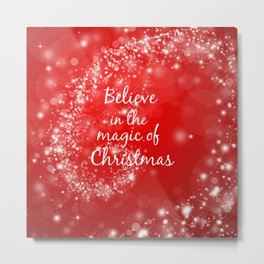 Magic of Christmas Metal Print