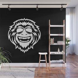 Wild Ape Wall Mural