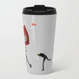 Shizuo and Izaya 1 Travel Mug