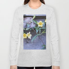 petite yellow flowers Long Sleeve T-shirt