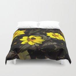 Bee in a Flower Duvet Cover