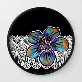 Hibiscus- Catalyst Gardens Wall Clock