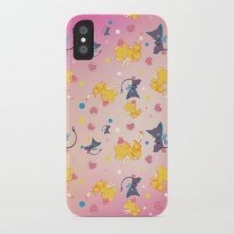 Spinell & Kerochan Pattern iPhone Case