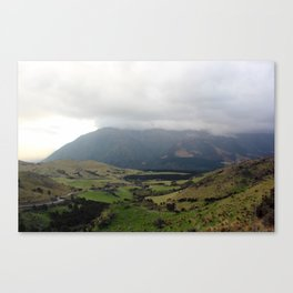 Road Along The Hurunui, NZ Canvas Print