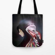 women_ผีตาโขน Tote Bag
