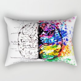 Conjoined Dichotomy Rectangular Pillow
