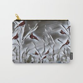"""""""Paper Winter"""" Carry-All Pouch"""