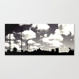 outlines Canvas Print