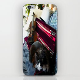 The Cat and the Fiddle (Gracie Queen of Chicago Collection) iPhone Skin