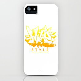Wild Style AU ver0.3 iPhone Case