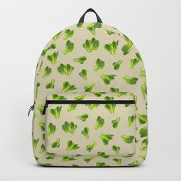 Lettuce Bok Choy Vegetable Backpack