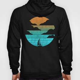 Go West (sail away in my boat) Hoody
