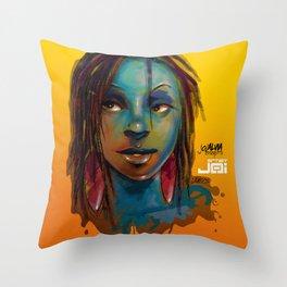 Afro Brazilian Throw Pillow