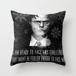 DwightSchrute Throw Pillow