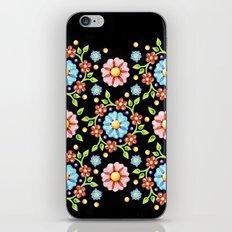 Millefiori Folkloric Pinwheel iPhone & iPod Skin