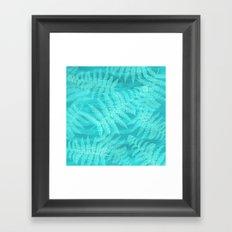 palm breeze Framed Art Print