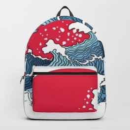 The Second Great Wave Backpack
