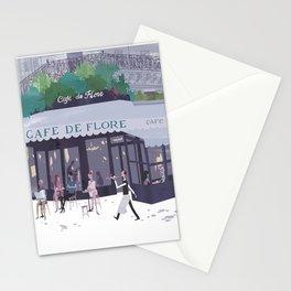 Cafe de flore Stationery Cards