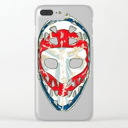 Dryden - Mask 2 Clear iPhone Case