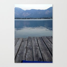 Trento Dock Canvas Print