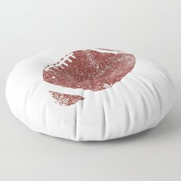 9th Anniversary Football Ninth Seasons Together Floor Pillow