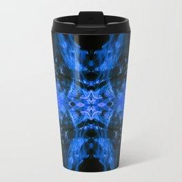 Blue Fire Dragons Travel Mug