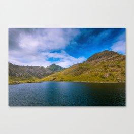 Summer in Snowdonia Canvas Print