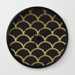 Gatsby deco glam Wall Clock