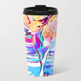 Doe A Deer Metal Travel Mug