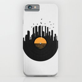 Vinyl City iPhone Case