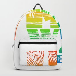 Hawaii Surfing Paradise Backpack
