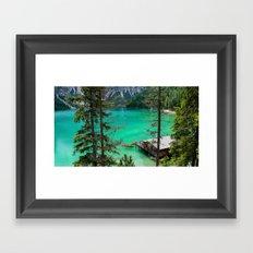 Pragser Wildsee Framed Art Print