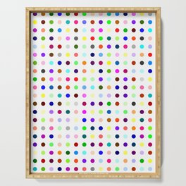 Big Hirst Polka Dot Serving Tray