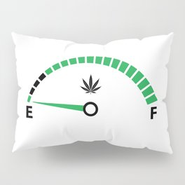 Need Weed | Cannabis Leaf Pot Head 420 Gifts Pillow Sham