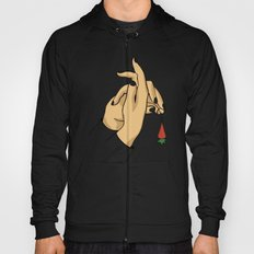 rabbit hand Hoody