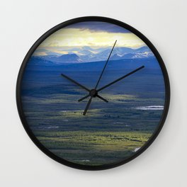 Lapland Wall Clock