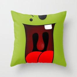 Faces V1 Throw Pillow