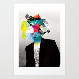 Clusters on mind #3 Art Print