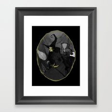The Wicked Witch of the West Framed Art Print