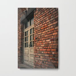 Doorway to Hell - Dachau Concentration Camp Metal Print