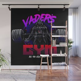 Vader's Gym - All too easy since 1977 Wall Mural